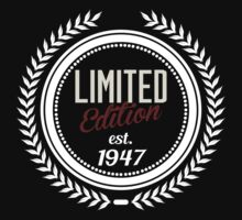 Limited Edition est.1947 by seazerka