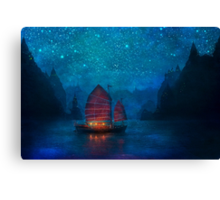 Our Secret Harbor Canvas Print