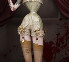 Twisted Dolls: The Butcher´s Bride Sticker
