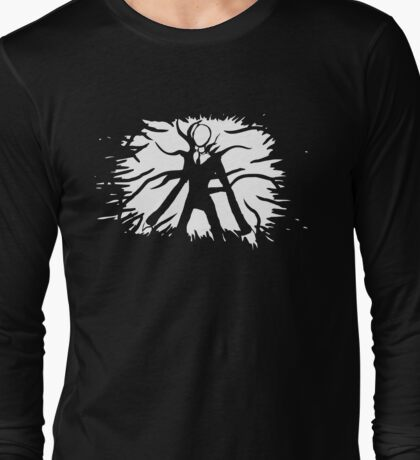 slender man Long Sleeve T-Shirt