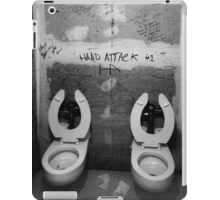 First punk toilet ever! iPad Case/Skin