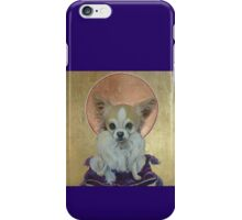 Long Haired Chihuahua as King iPhone Case/Skin