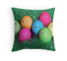 Easter Family Throw Pillow