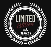 Limited Edition est.1950 by seazerka