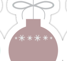 Holiday Ornaments Sticker