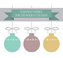 Holiday Ornaments Photographic Print