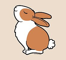 Proud Dutch Rabbit ... Brown and White by zoel