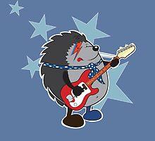 Ziggy plays guitar by mangulica