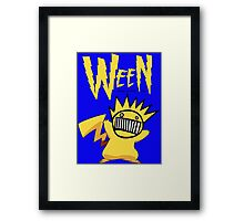 hey you boog-a-chu! Framed Print