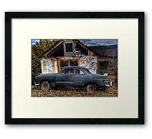 The Old Coupe Framed Print
