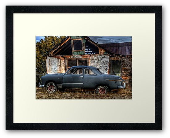 The Old Coupe by John  De Bord Photography