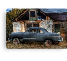 The Old Coupe Canvas Print