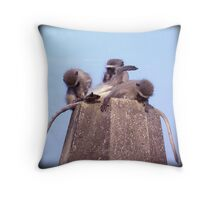 What's down there? Throw Pillow