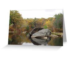 Rockhouse Pond Greeting Card