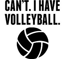 Can't I Have Volleyball by kwg2200