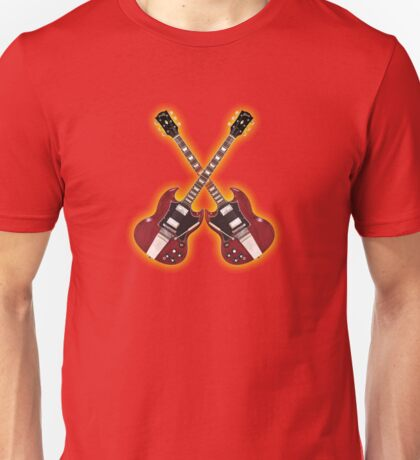 Double red gibson sg Unisex T-Shirt