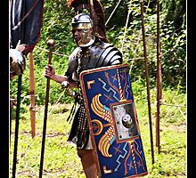 Officer in the Roman Legion by Jörg Holtermann