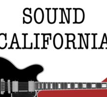 Bakersfield  Sound California Country BWR Sticker