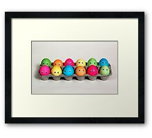 Easter Family of 12 Framed Print