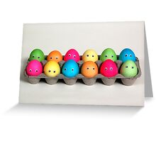 Easter Family of 12 Greeting Card