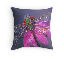 Dreaming Dragon Throw Pillow