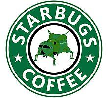 Starbugs (Starbucks) Coffee Photographic Print