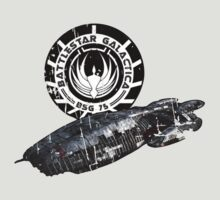 Battlestar Galactica - Ship by yebouk