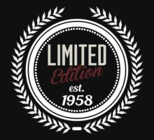 Limited Edition est.1958 by seazerka