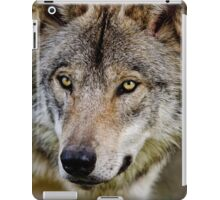 Timberwolf Portrait  iPad Case/Skin