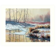 Early Spring on Strensall Common Art Print