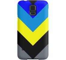 V-Lines Blue Style Samsung Galaxy Case/Skin
