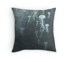 Jellyfish 2 Throw Pillow