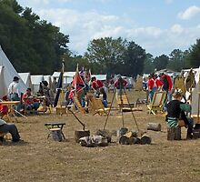 Civil War Camp by Stacey Lynn Payne