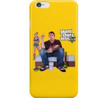 GTA V - Real Life Illustration iPhone Case/Skin