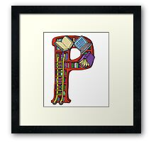 P is for Patty Framed Print