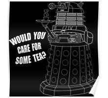 Dalek Cuppa Poster