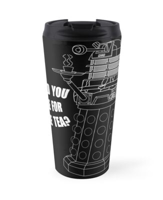Dalek Cuppa by metallikunt