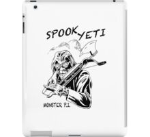 Spook Yeti, Monster P.I. iPad Case/Skin