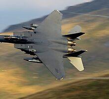 F15 E Strike Eagle by Simon Pattinson