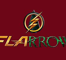 The Flash and Arrow (Team Flarrow) by mattuc
