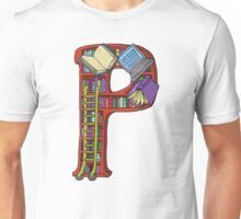 P is for Patty Unisex T-Shirt