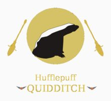 Hufflepuff Hogwarts House Quidditch Kids Clothes