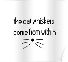dan and phil whiskers come from within Poster