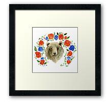 Miss Bear  Framed Print