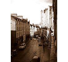 Old Town Edinburgh Photographic Print