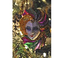 Mardi Gras Mask Photographic Print