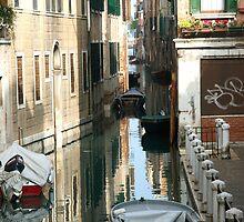 Venice Canal by Judson Joyce
