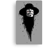 Vendetta Ink Canvas Print