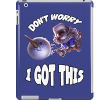 Ziggs got this! iPad Case/Skin