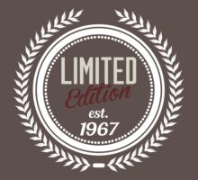 Limited Edition est.1967 by seazerka